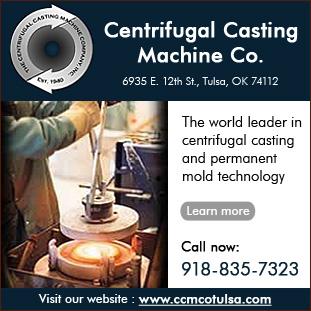 Centrifugal Casting Machine Co Tulsa Oklahoma Ok 74112